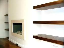 dark wood floating shelves rustic shelf cherry
