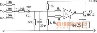 three phase motor phase failure protection circuit diagram three phase motor phase failure protection circuit diagram