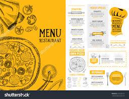 stylish food menu templates graphic web design ideas restaurant cafe menu template design food flyer