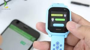 Đồng hồ thông minh định vị trẻ em Wonlex KT01 Đen/Hồng/Xanh dương