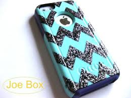 owfmz2 l 610x610 dress otterbox etsy sales iphone cover iphone case 5c iphone 5c cases glitter bling chevron stripes chevron chevron print cute light blue phone cover iphone 5 cover phone cases iph