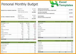 Expense Template For Small Business Monthly Business Expense ...