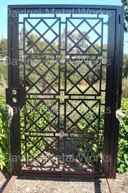 modern metal gate. DaVinci Contemporary Modern Metal Gate