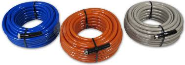 best garden hoses. Flexeel Reinforced Hoses In Blue, Terracotta And Sandstone Colors Best Garden R
