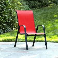 stackable lawn chairs target patio chairs sling back stacking chair target spin prod essential home depot