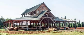 oregon timber frame barn 2016