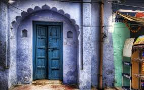 door house indoors old purple wallpaper hd background hd