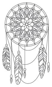 Small Picture Fun Dream Catcher Coloring Pages Free Printable Dream Catcher