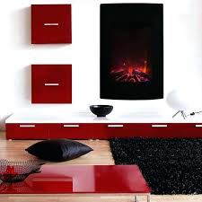 black wall mounted electric fireplace costco fires uk stanton mount reviews