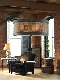 drum light chandelier. Drum Light Chandelier 3 Hanging Shade Pendant Fixture New Large D