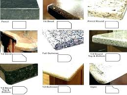 granite countertops edges edge types how to cut brilliant diffe of following countertop chipping pictu