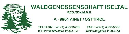 Bildergebnis für waldgenossenschaft iseltal logo