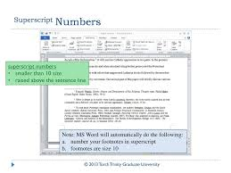 Term Paper Formatting For The Humanities Ppt Download