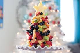 fruit christmas tree. Simple Christmas Fruit Christmas Tree For N