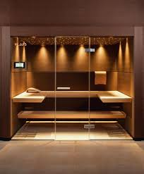 home steam room design. Klafs, Custom-made Sauna, CASENA Sauna Sheer Elegance For Soothing Relaxation. Home Steam Room Design