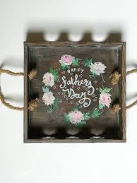 decorative tray for father s day trays