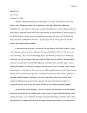 essay on favorite place disney world harris english c  3 pages career essay