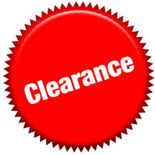 Image result for clearance logo