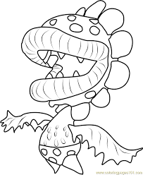Sensational Design Piranha Coloring Pages Petey Page Free Super