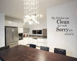 Large Kitchen Wall Decor Stunning Kitchen Dining Room Decorated With Letter Kitchen Wall