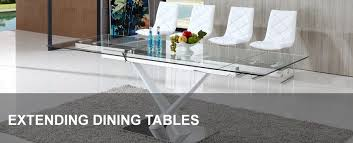 extending glass dining table and chairs. extendable glass dining table cool extending tables modenza furniture home design ideas 4 and chairs l