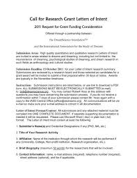 Call For Research Grant Letters Of Intent Dream Science