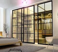 sliding doors made of steel seamless
