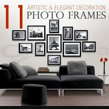 picture frames on wall simple. Picture Photo Sets Black Frame Wall Art Home Decals Colour Gift Items Artistic Simple Meaningful Touch Frames On W