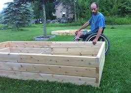 cedar garden box. Dave Ciliberto With Raised Garden Bed Hadicap Accessible Cedar Box ,