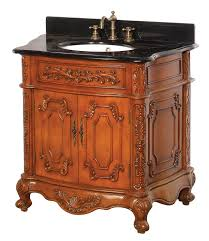 Antique Bathroom Vanity Oak Finish DreamLine DLVBJAO - Oak bathroom vanity cabinets