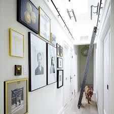 Long Hallway with Skylight