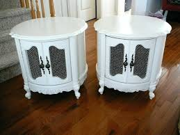 antique round end table vintage french carved mahogany and marble round end table circa for