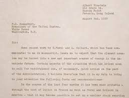 Letter World Documents That Changed The World Einsteins Letter To Fdr 1939