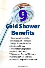 9 cold shower benefits weight loss