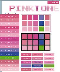 Pink tone color scheme ...