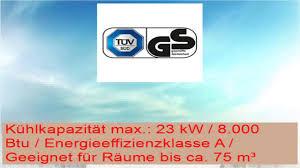 Trotec Lokales Mobiles Klimagerät Klimaanlage Pac 2300 X Mit 23 Kw