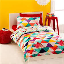 Geometric Quilt Cover Set - Double | Kmart | Bedroom | Pinterest ... & Geometric Quilt Cover Set - Double | Kmart Adamdwight.com