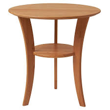 22 round cherry end table cherry wood furniture