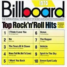 1970 Chart Hits Billboard Top Rocknroll Hits 1970 Wikipedia