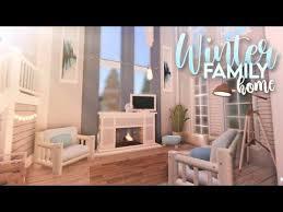 bloxburg winter family home roblox