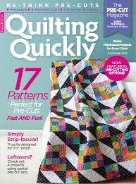 Fons & Porter Quilting Magazines - Fons & Porter - The Quilting ... & Quilting Quickly May/June 2017 Adamdwight.com