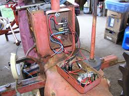 squid s fab shop allis chalmers b alternator conversion instrument box wired up on allis chalmer b