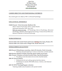 Gallery Of The Psychology Of Resume Building College Magazine