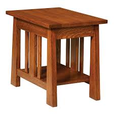freemont mission open end table no drawer