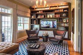 Image Game View In Gallery Relaxing Rec Room With Wall Tv Unit Decoist Rec Room Design Ideas For Some Fancy Time At Home