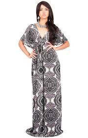 Jezebel Summer Sun Kaftan Evening Print Maxi Dress