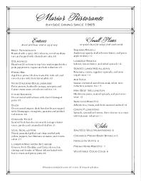 Elegant Fine Dining Menu Long Design Templates By