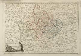 Карта Смоленского, <b>Калужского</b> и Могилёвского наместничеств ...