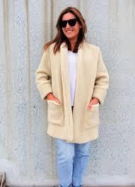 loren jacket by style arc essential three quarter length jacket with a shawl collar