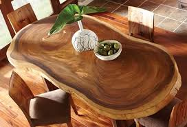 Dining Tables, Awesome Brown Oval Modern Wooden Unique Dining Tables  Stained Ideas: unique dining